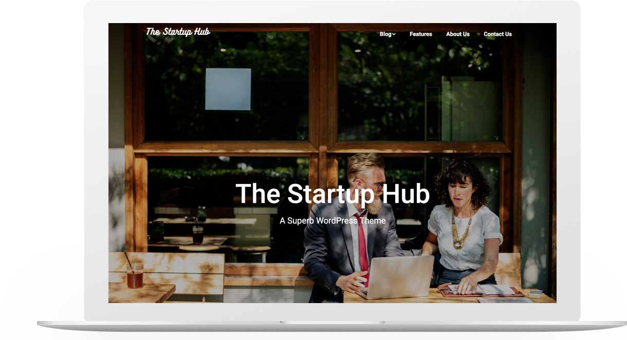 Startup Hub | Superb WordPress Themes