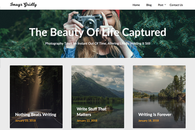 Image Gridly Premium WordPress Theme
