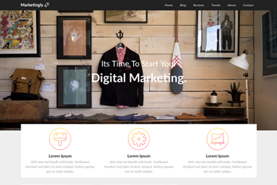 Marketingly A Free WordPress Theme