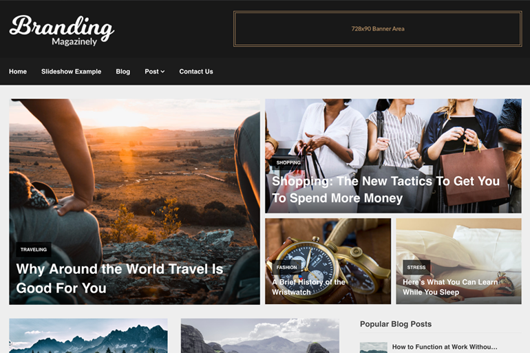 Magazinely Premium WordPress Theme