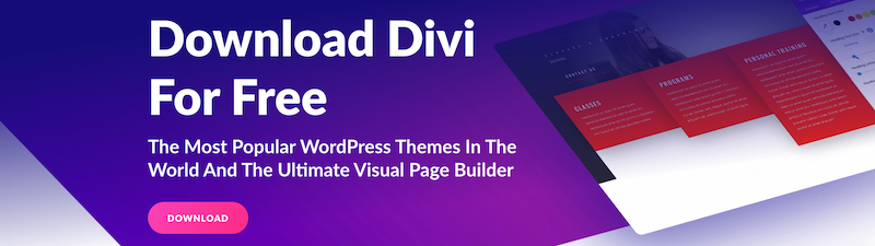 Divi WordPress theme is currently the most used in the world