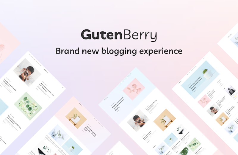 Gutenberry WordPress Theme