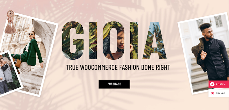gioia wordpress theme for eCommerce websites
