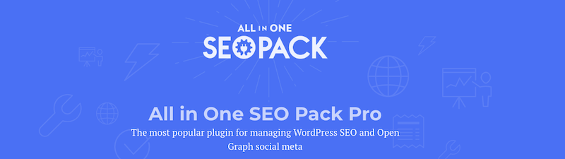 4. All in One SEO Pack WordPress Plugin
