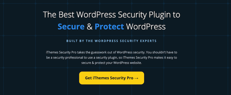 2. iThemes Security WordPress Plugin