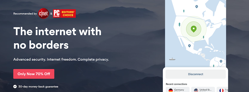 NordVPN, a VPN for Linux