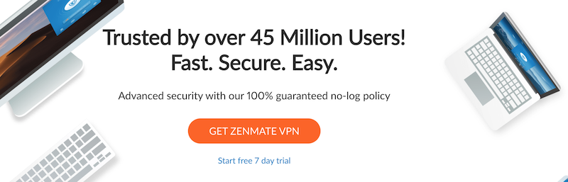ZenMate, a VPN for Linux