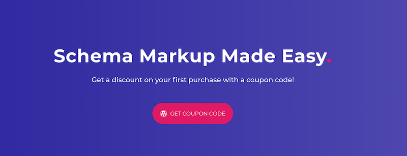 All in One Schema Rich Snippets Coupon Code