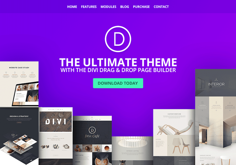 Divi WordPress theme can be downloaded for free