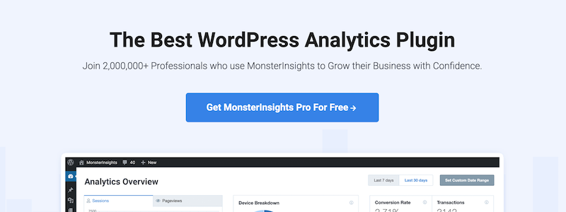 MonsterInsights is the fourth most sold plugin this year