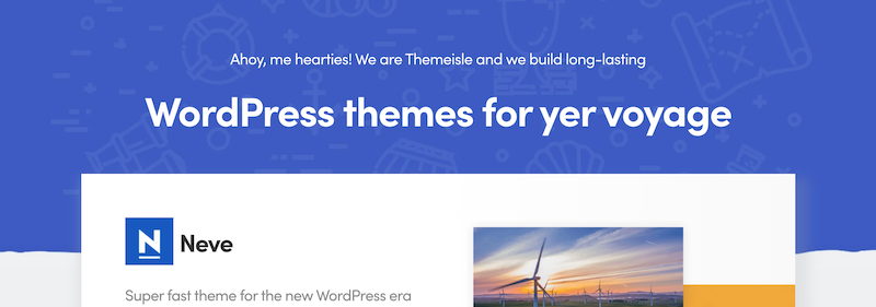Themeisle WordPress Theme Affiliate Program