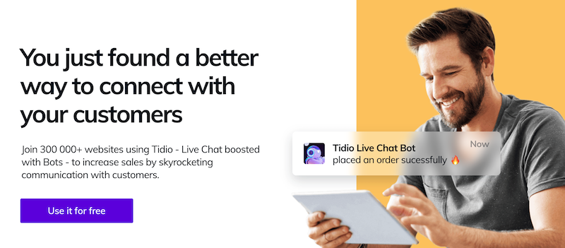 Facebook Live Messenger Chat with Tidio WordPress Plugin