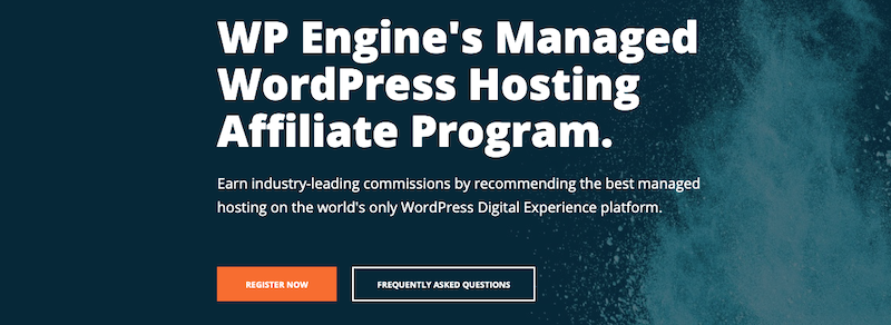 WP Engine affiliate hosting