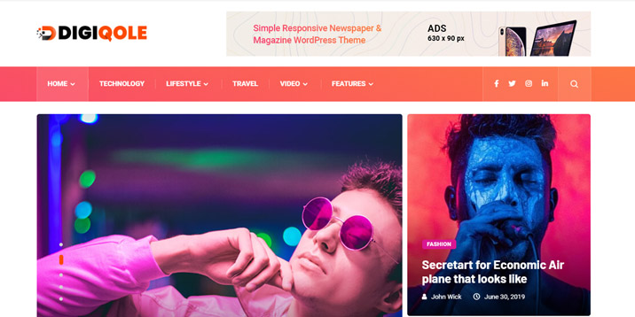 Digiqole from Themeforest