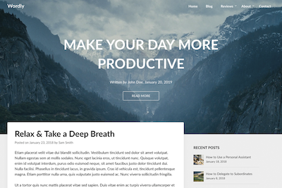 Wordly Premium WordPress Theme