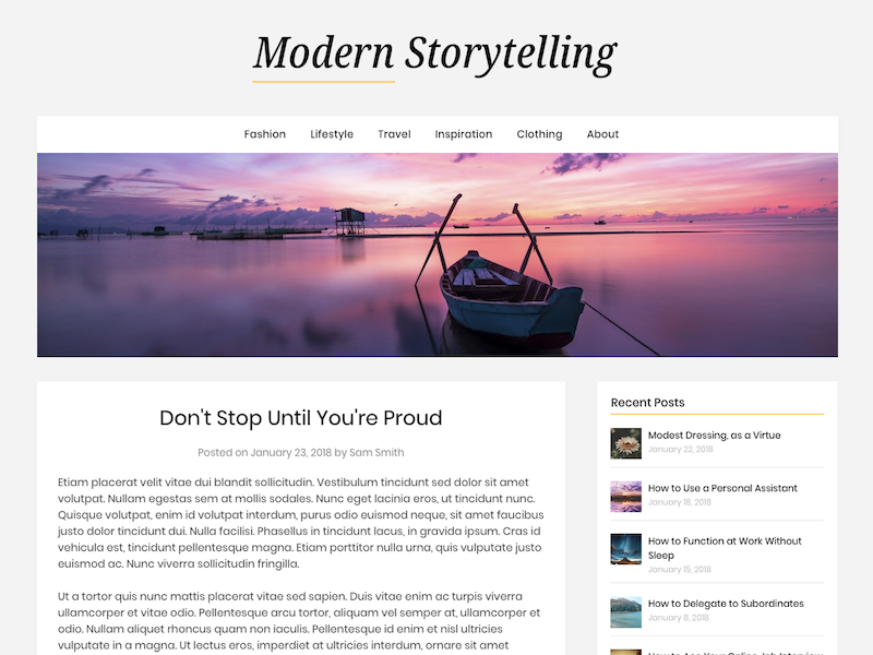 Modern Storytelling has a low Carbon Footprint