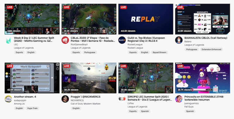 Ask friends and fellow streamers to watch your stream