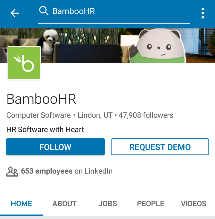 LinkedIn is useful at this stage. Search for the company name, and you'll be able to see how many of their employees have a LinkedIn presence: