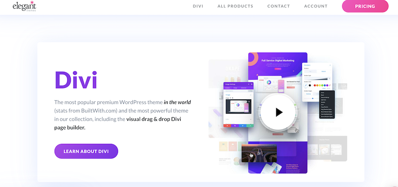 Wordpress Requirements for Divi Themes - No Coding Needed