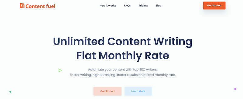Content Fuel Writing Service Review