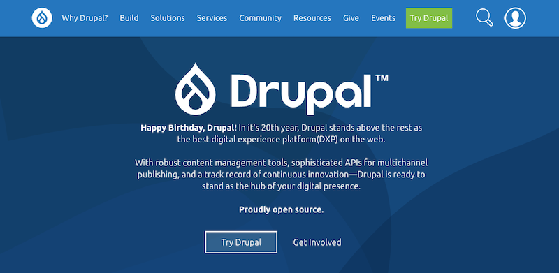 Drupal and Its Benefits Over Competitors