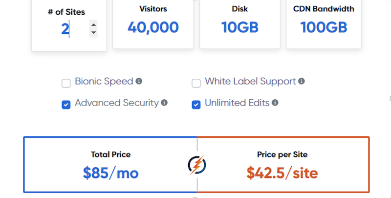 BionicWP hosting review