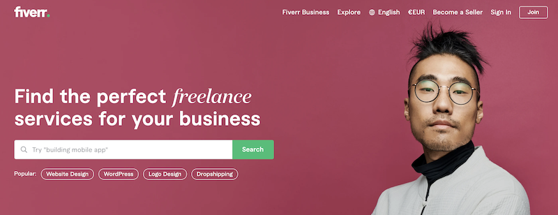 Fiverr outsourcing