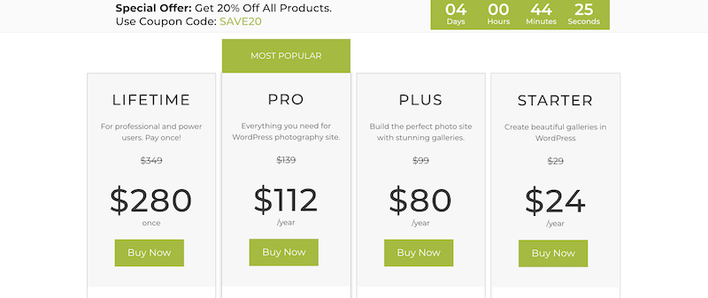 Imagely pro review prices