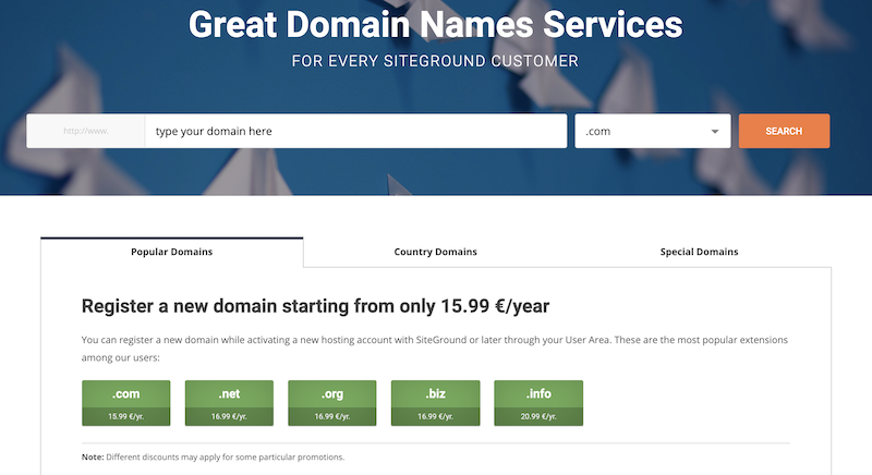 Does Siteground Offer A Free Domain